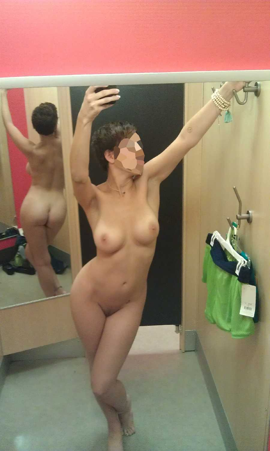 Nude Women In Fitting Room Images