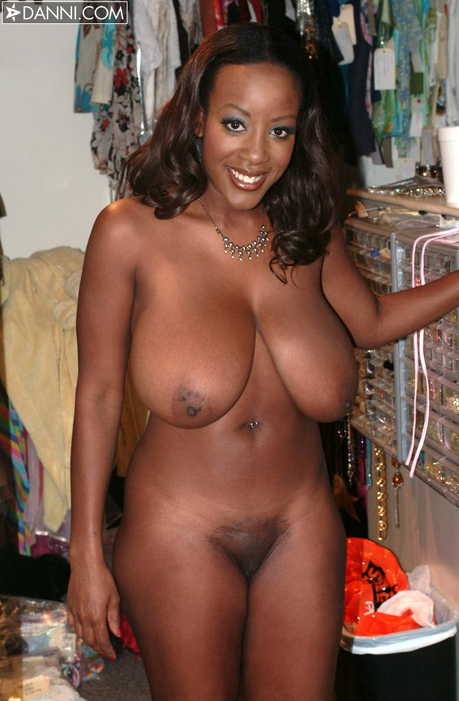 Huge naked black girl