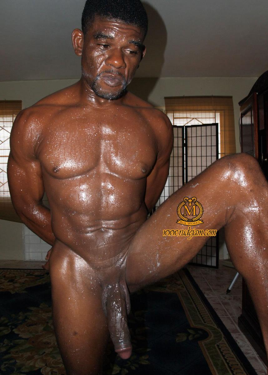 Big black gay daddy cock