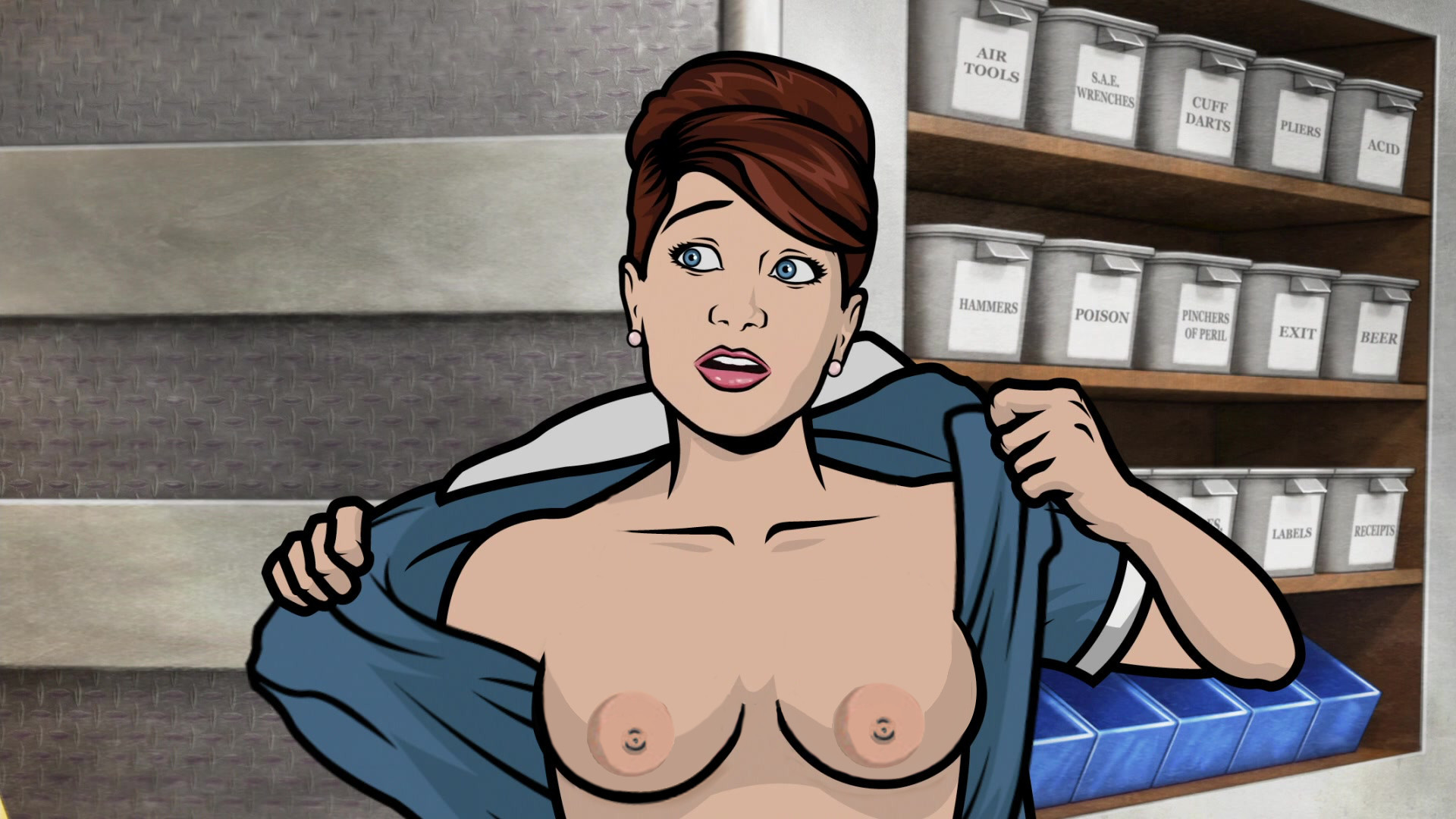 Carol from archer porn naked pictures