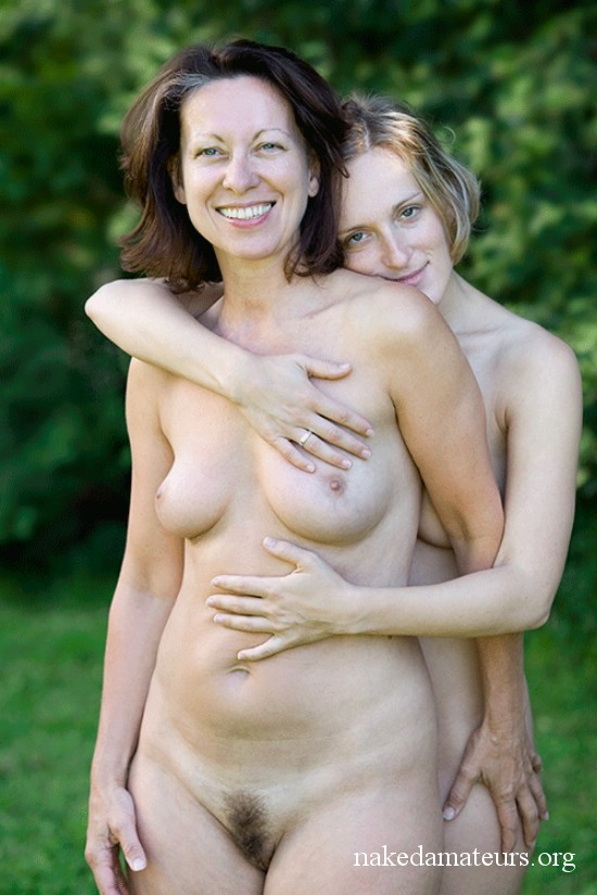 nude girls of various age