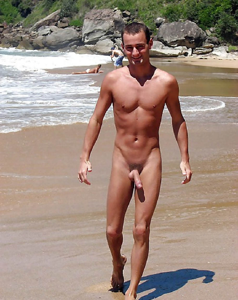 men beach nude