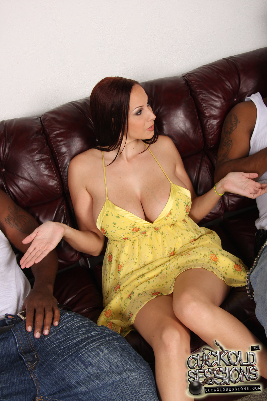 Gianna michaels tking black cock