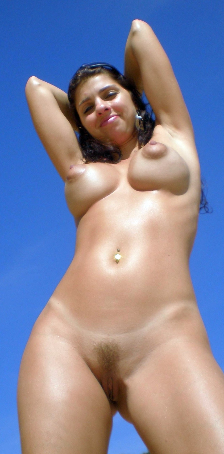 Areolas puffy mature dark niples