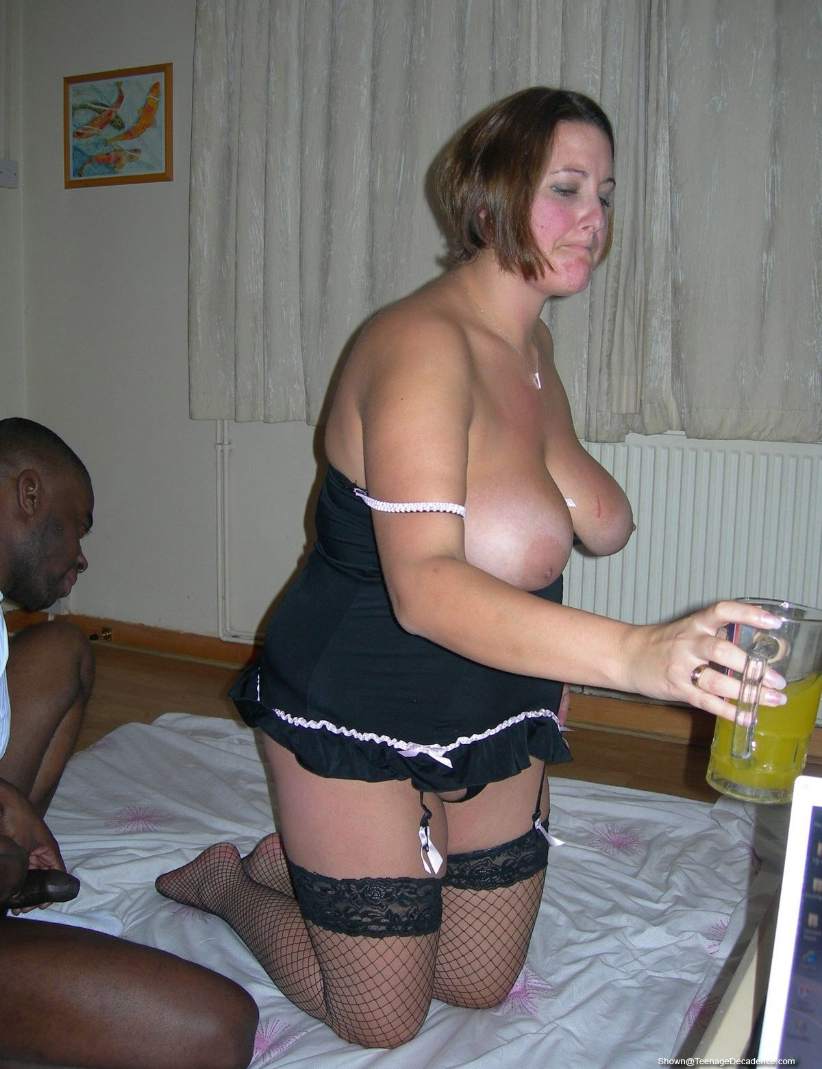 Two Black Individuals Fucking My Wife