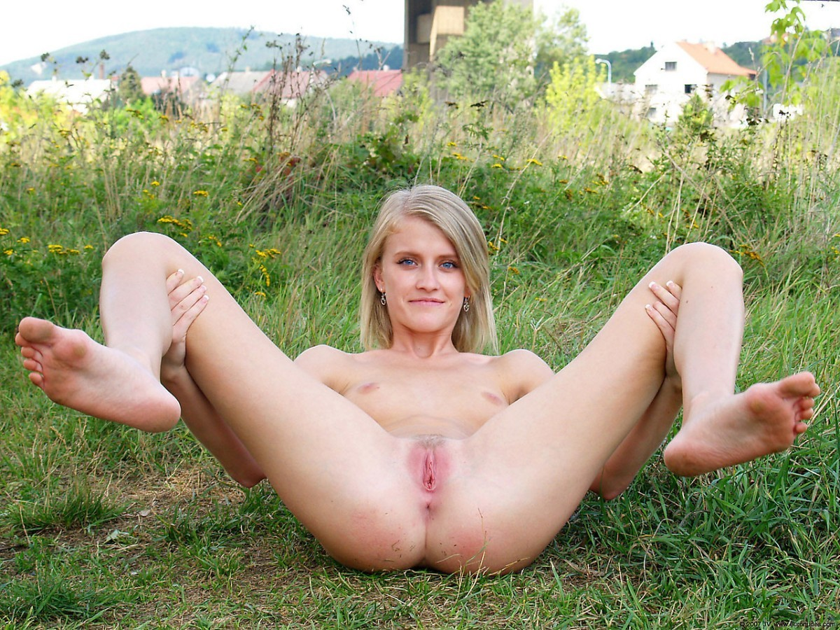 Naked Spread Pussy