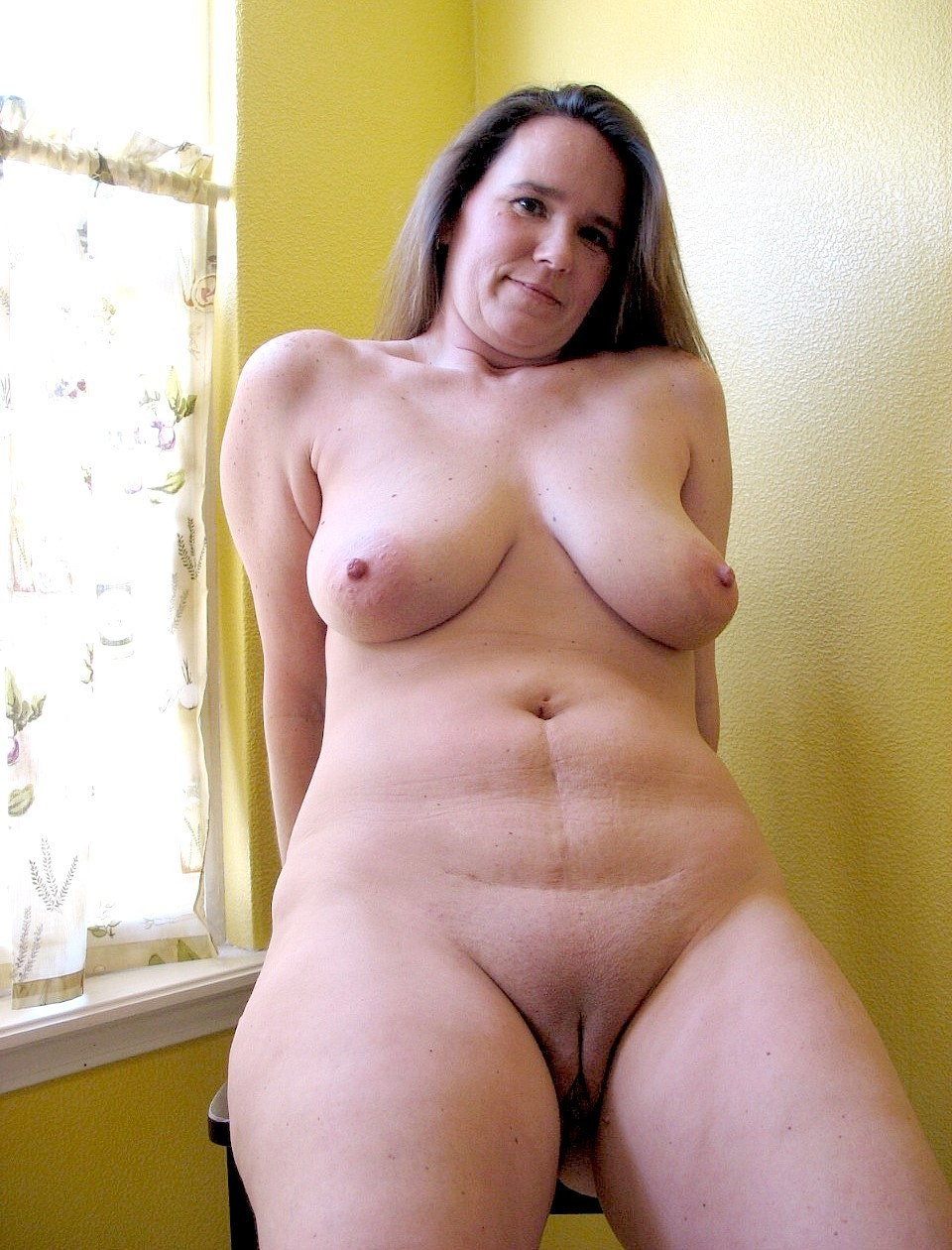 Chubby 40 year old moms