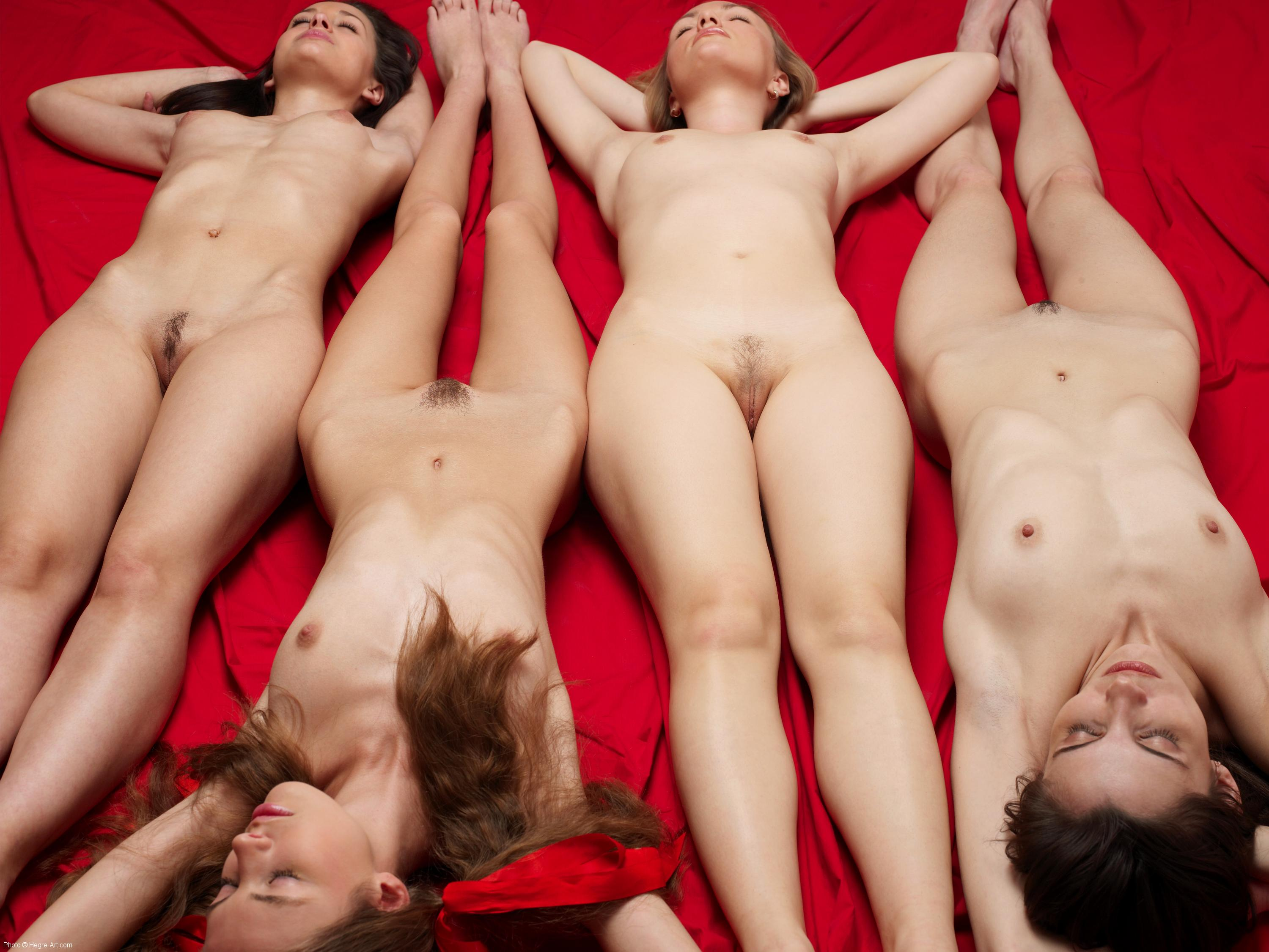 naked after girls sleeping party Four