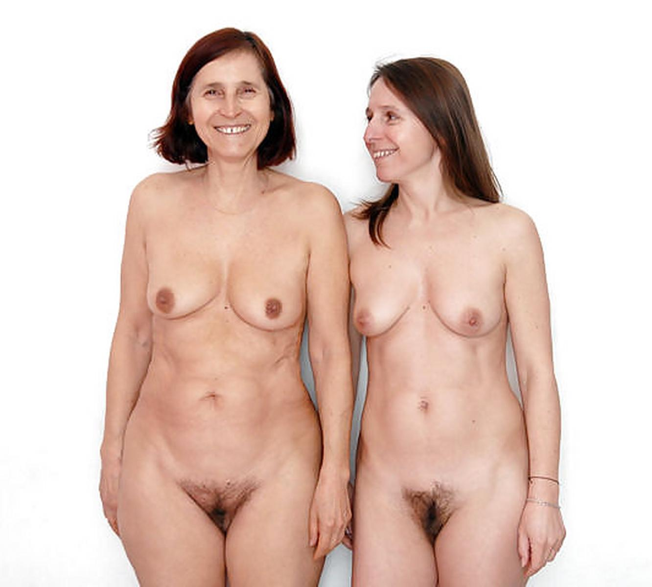 mother and daughter nude