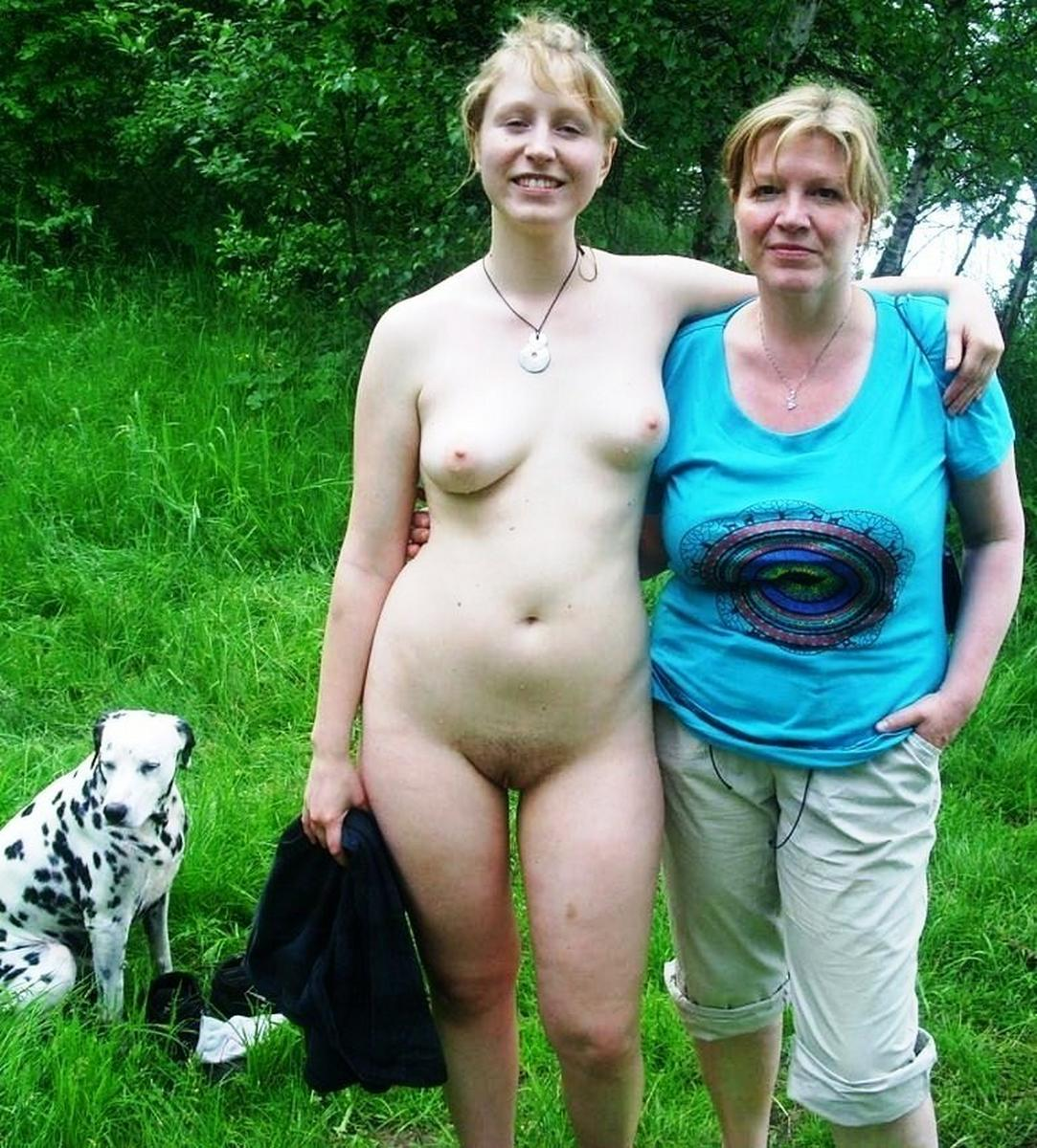 Mother and friend nude