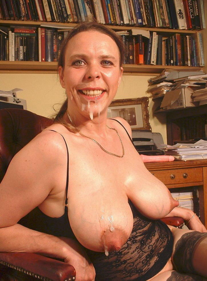 Mature facial sex