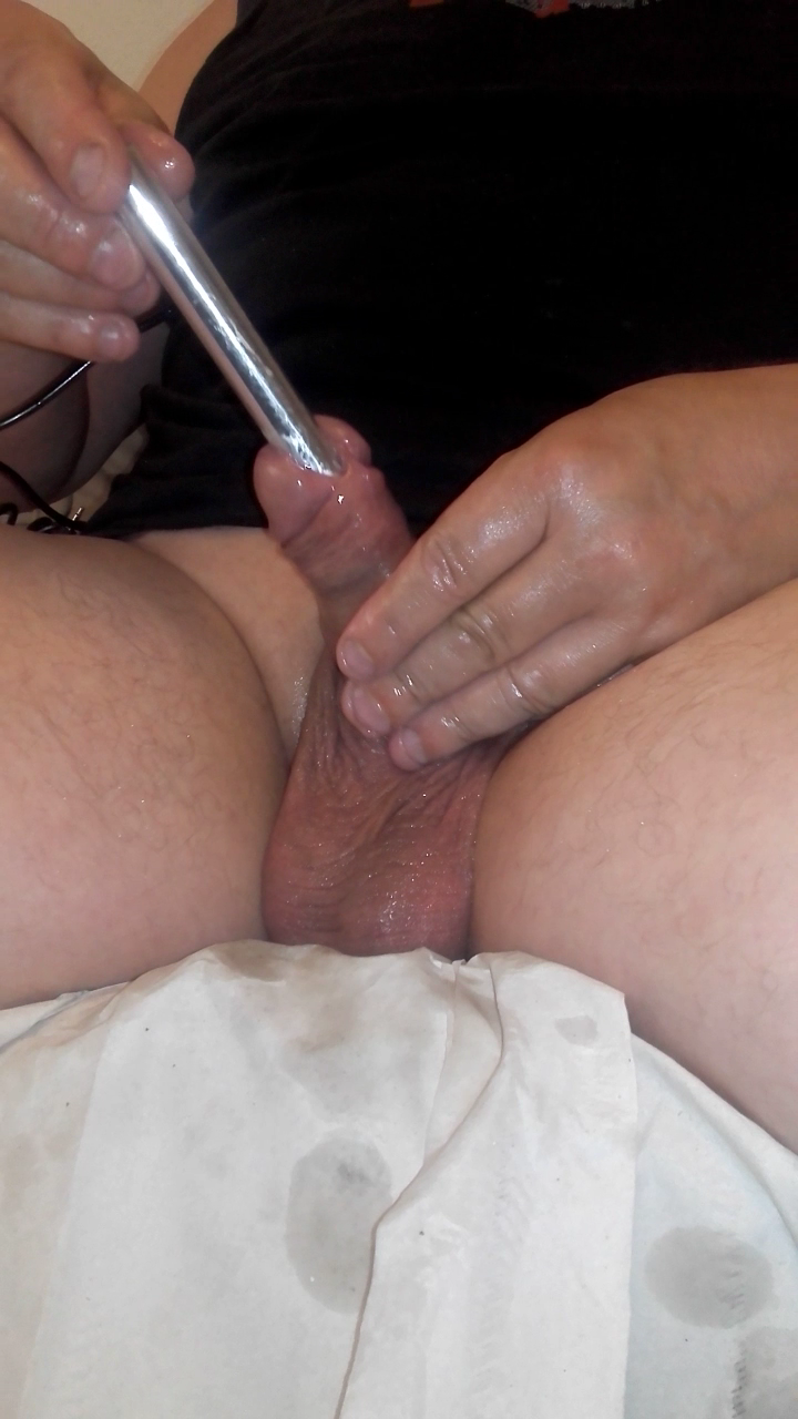 Cock torture insertion