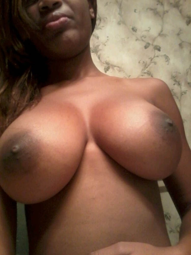 Tits selfies girl big black
