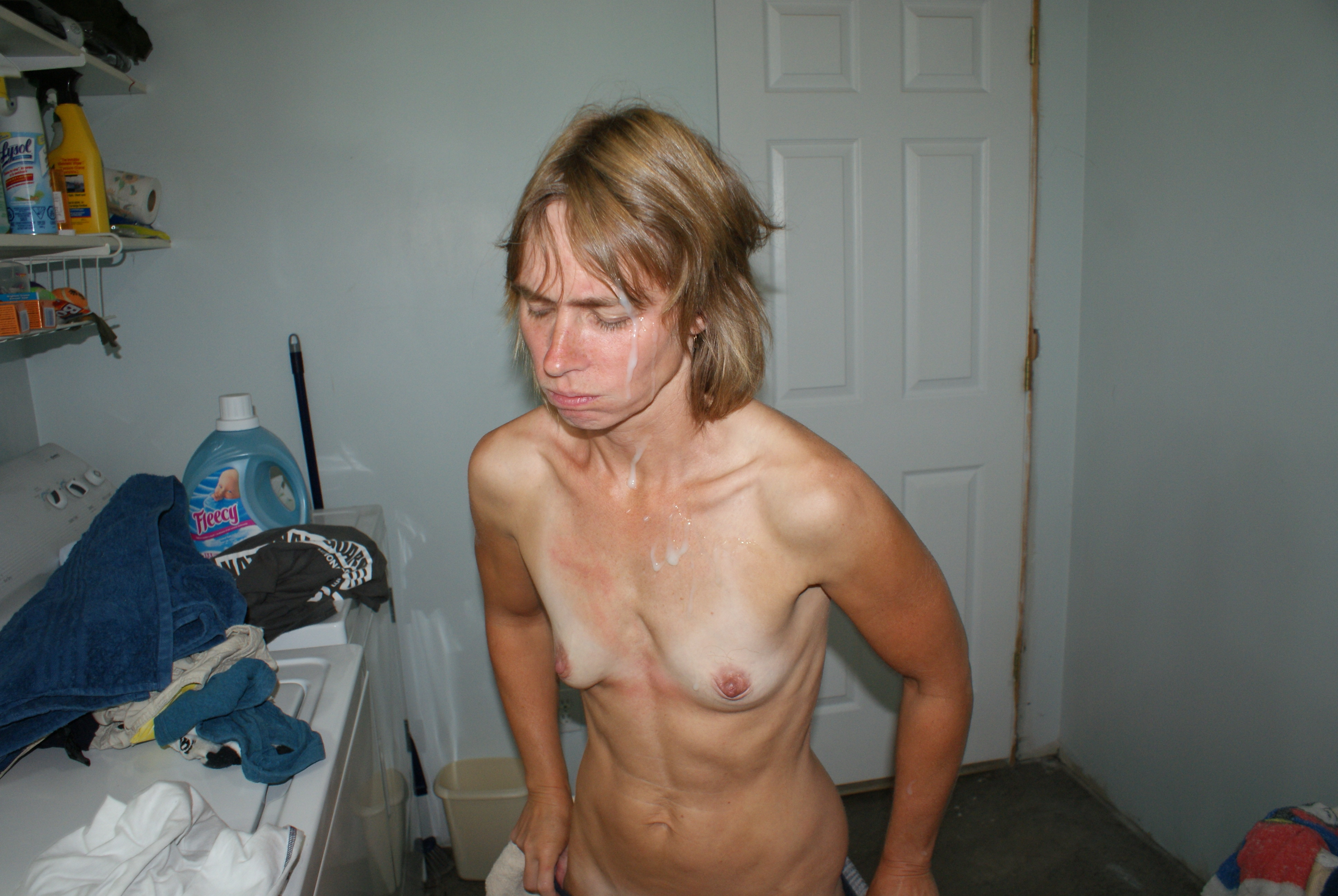 Milf wive cum whore gets nasty