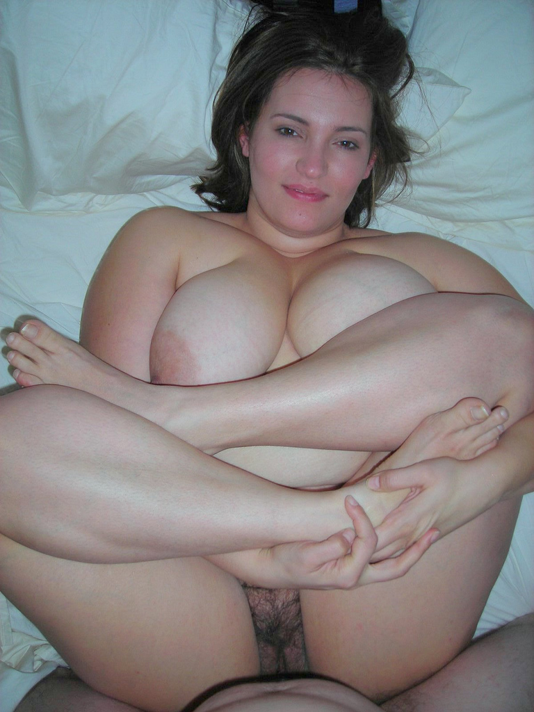 naked chubby white woman