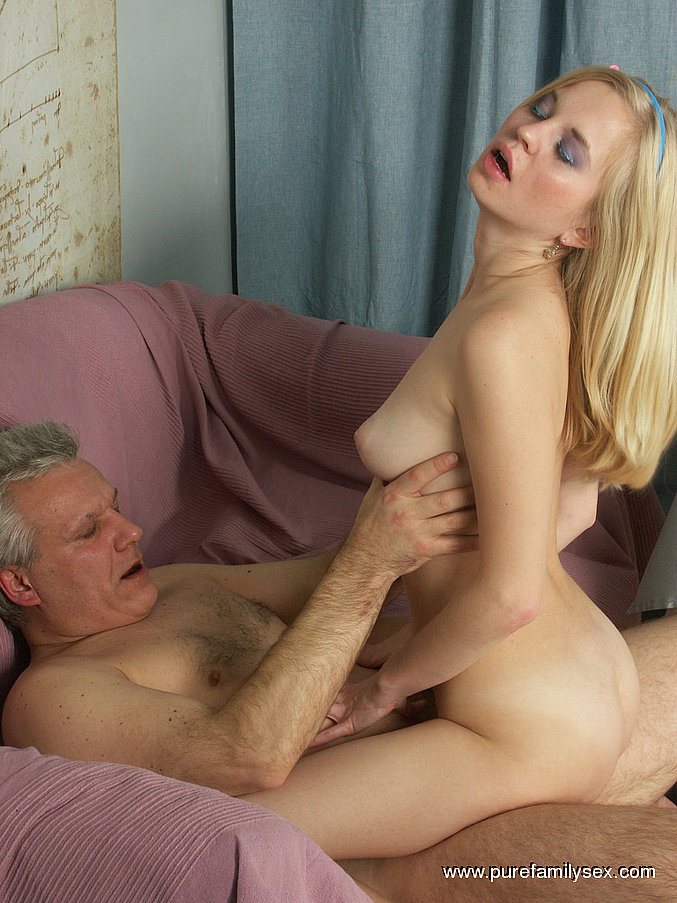Daddy and daughter hot sex