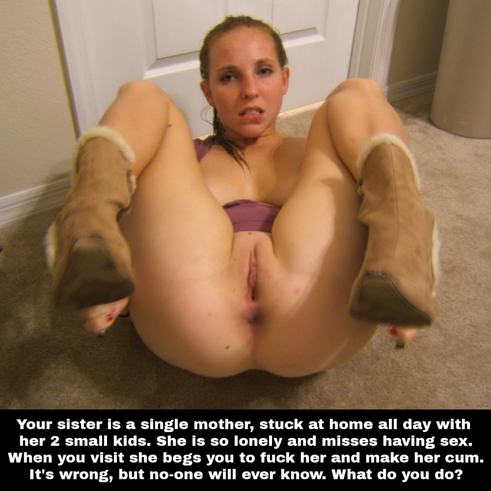 Step Sister Riding Cock