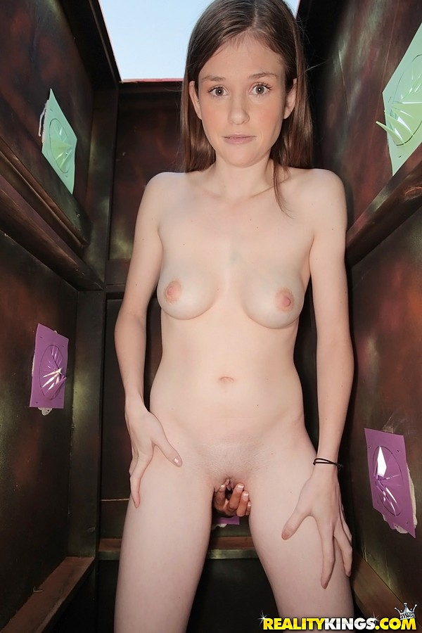 Amateur busty blonde talks about her fantasy 8