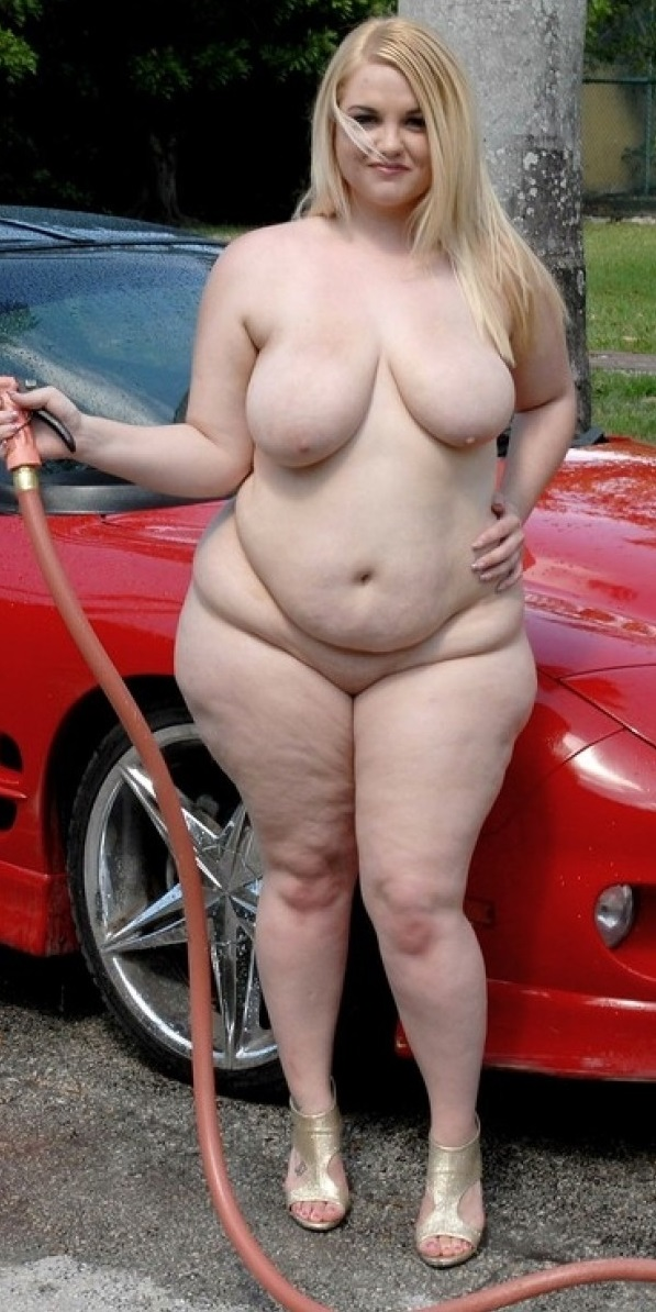 Extremely fat naked ladies, true blond hair pussy