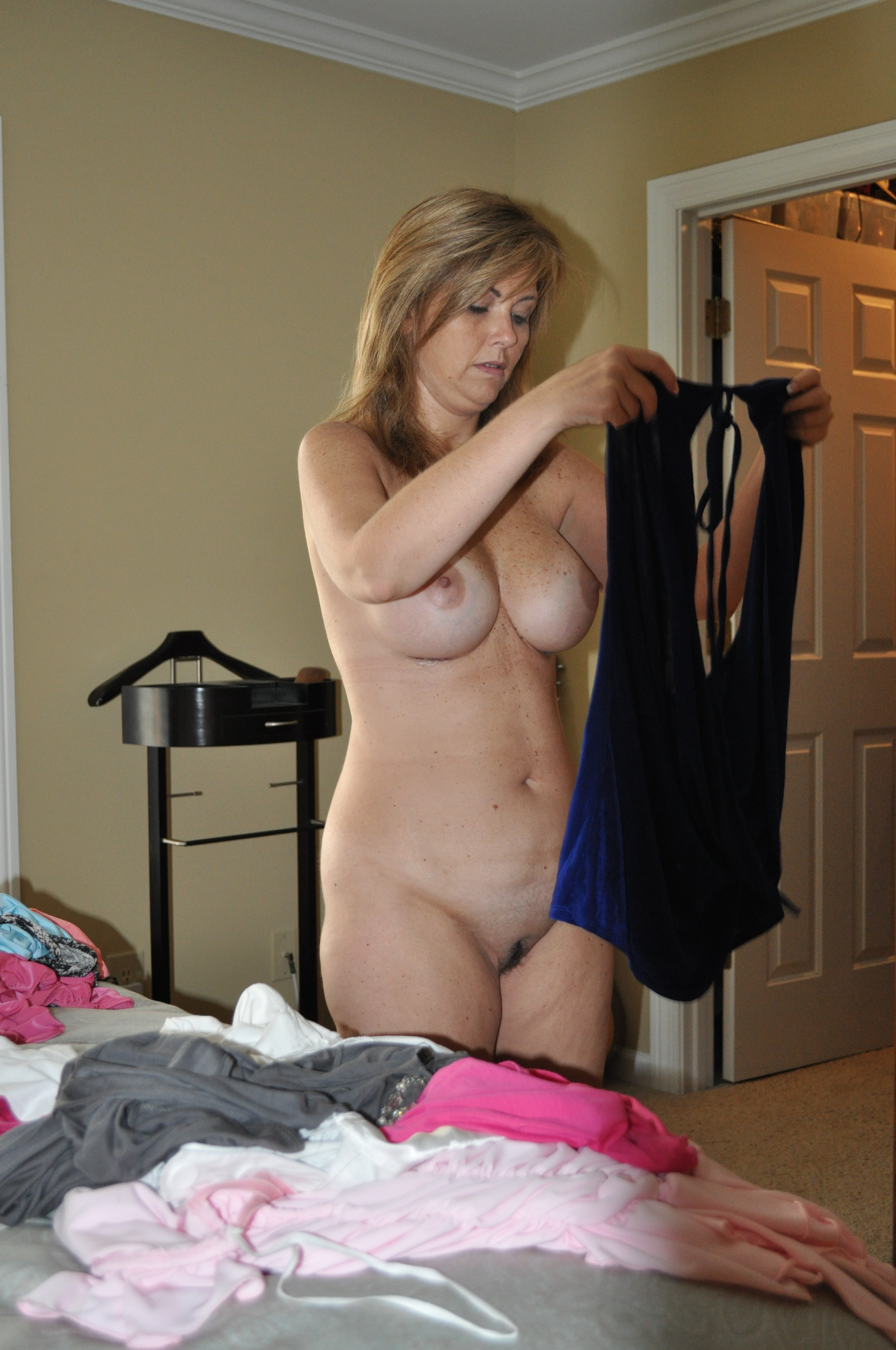 fat woman naked