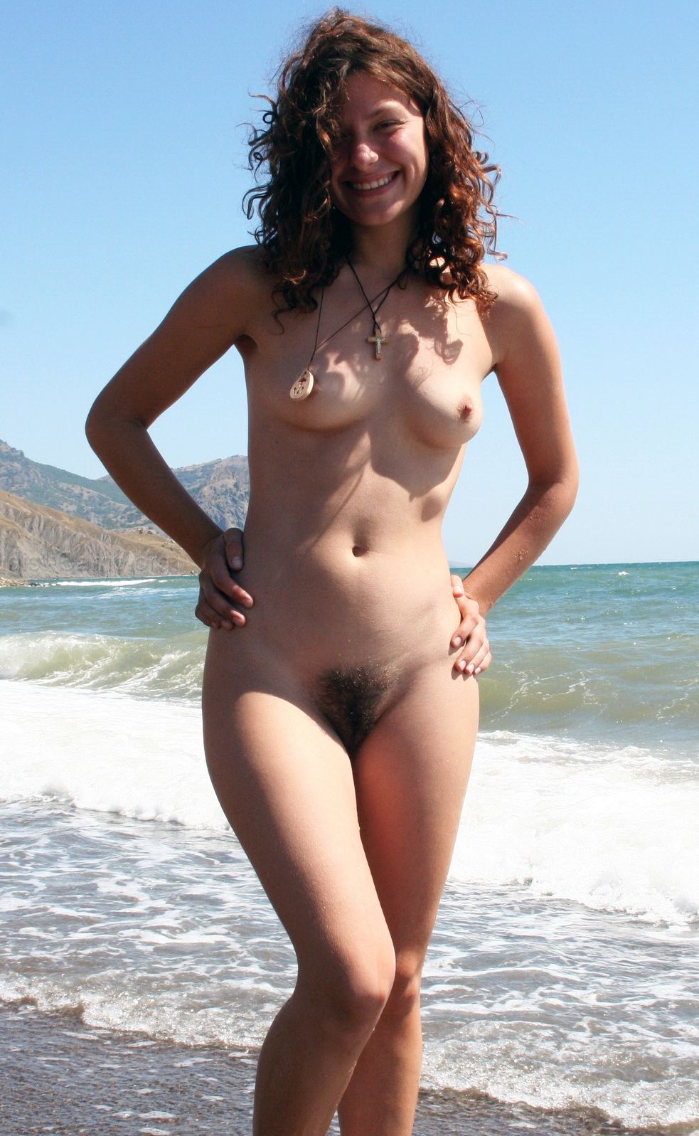 On naked the women beach hairy