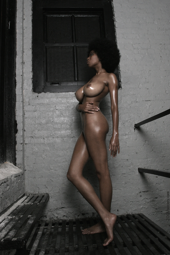 Fat naked black girl