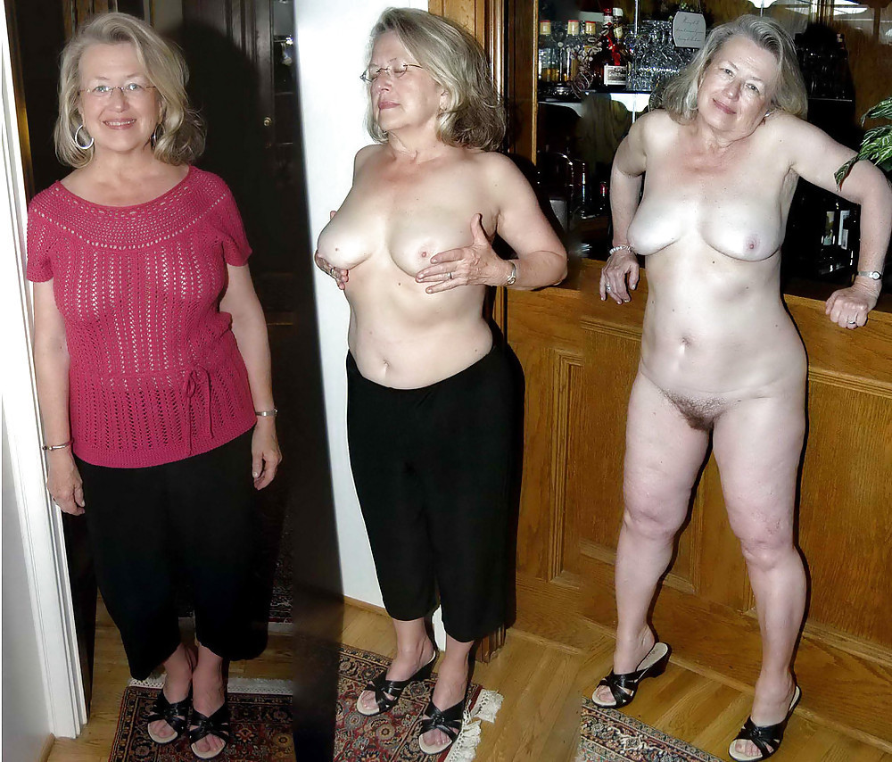 Clothed Then Naked Before And After