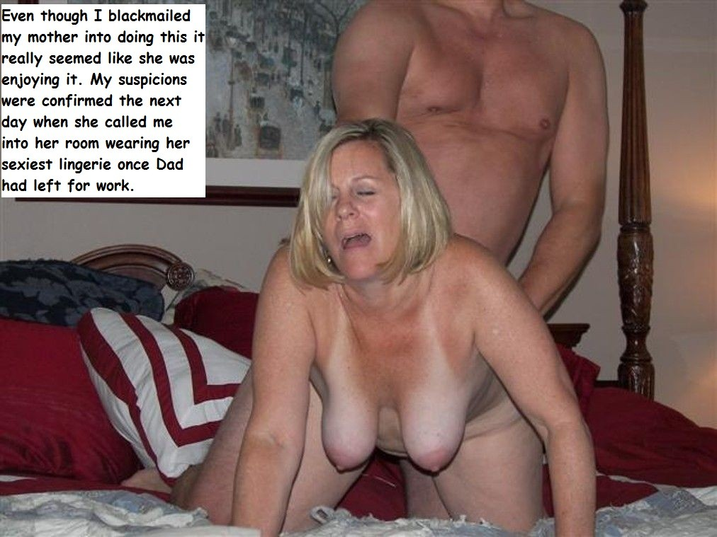 by son captions mom blackmailed
