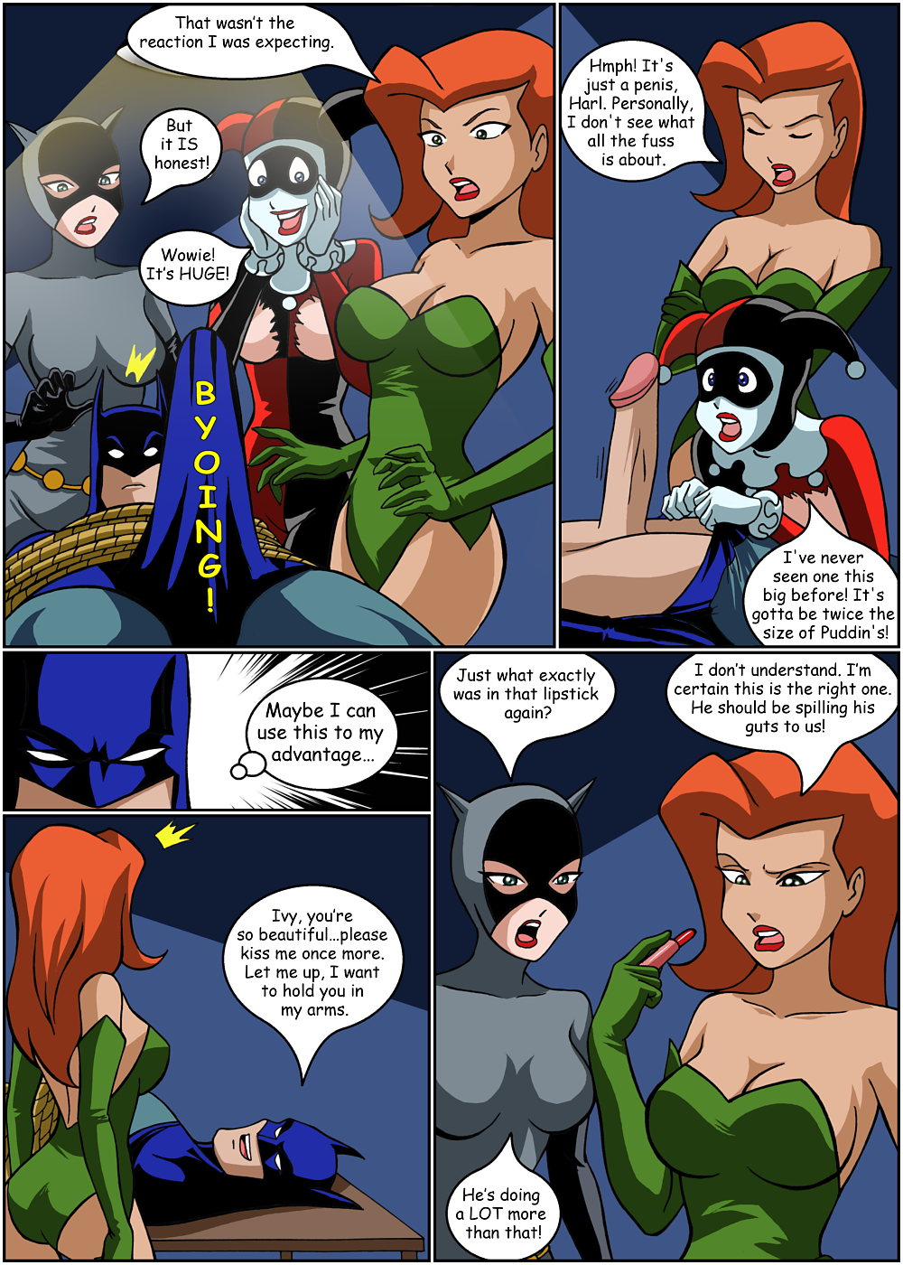 Batman Hentai Comics