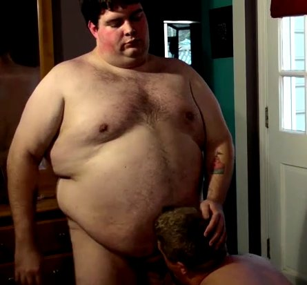 Virgin nude belly fat male man fucks