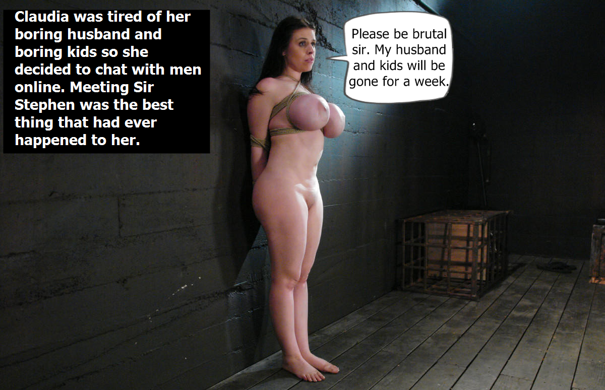 Slave submissive captions wives abused slut