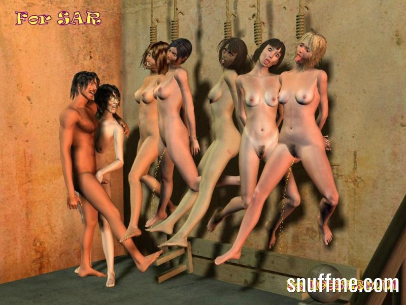 Erotic snuff hangtures — pic 6