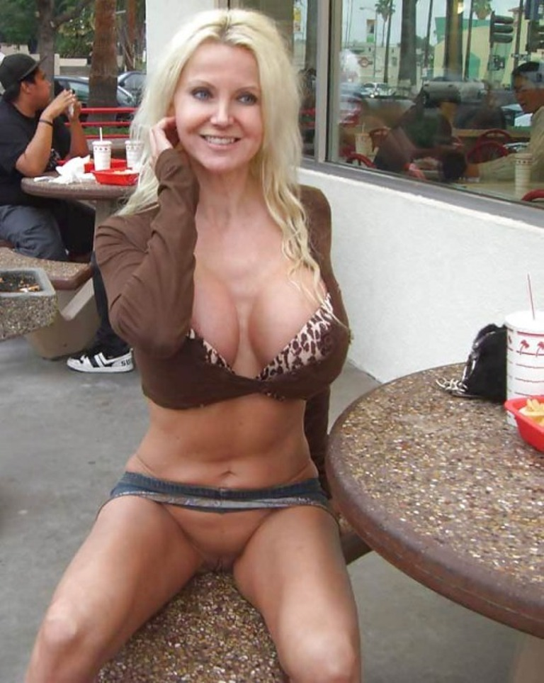 Milfs flashing tumblr