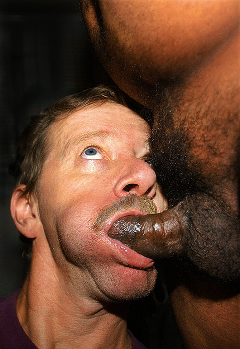 Men sucking big black cocks pity