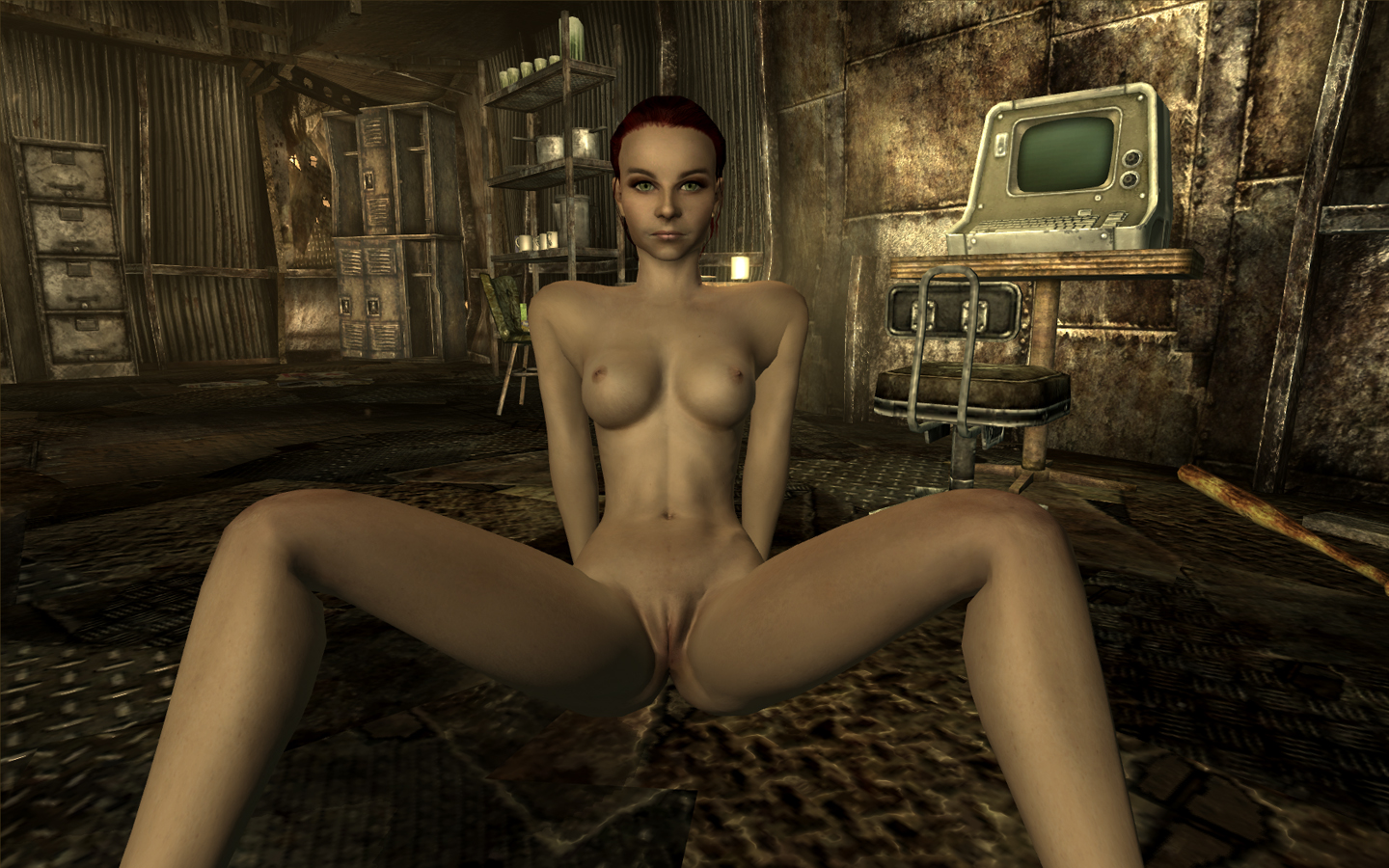 Where to find naked people in fallout naked girl