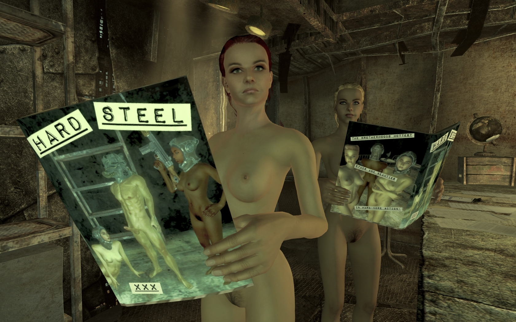 Where to find naked people in fallout sexy photo