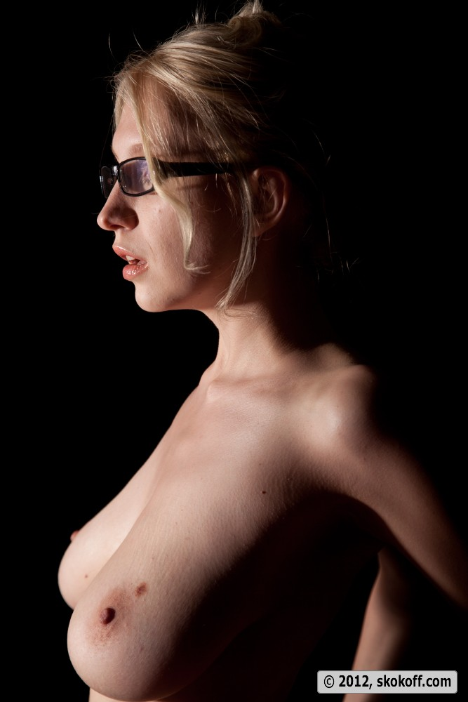 Big tit blonde milf with glasses will not