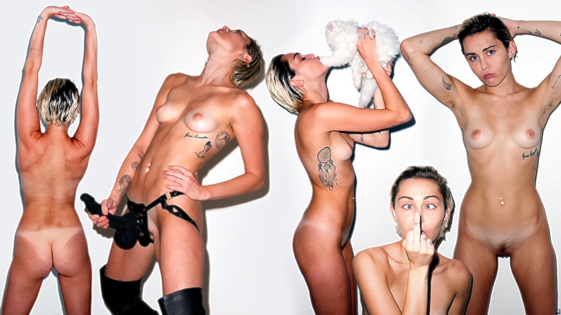 Naked miley cyrus title object object