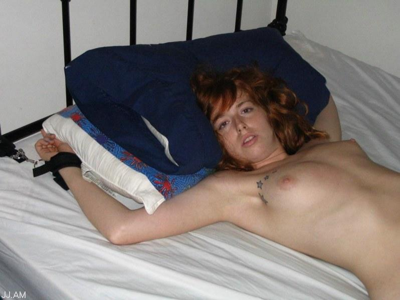 Congratulate, this Girlfriend naked tied to bed gif