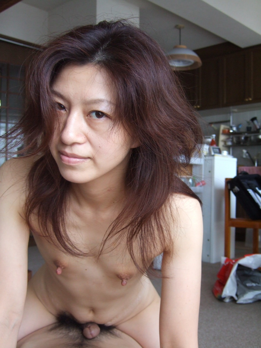 tiny tits on asian whore - motherless