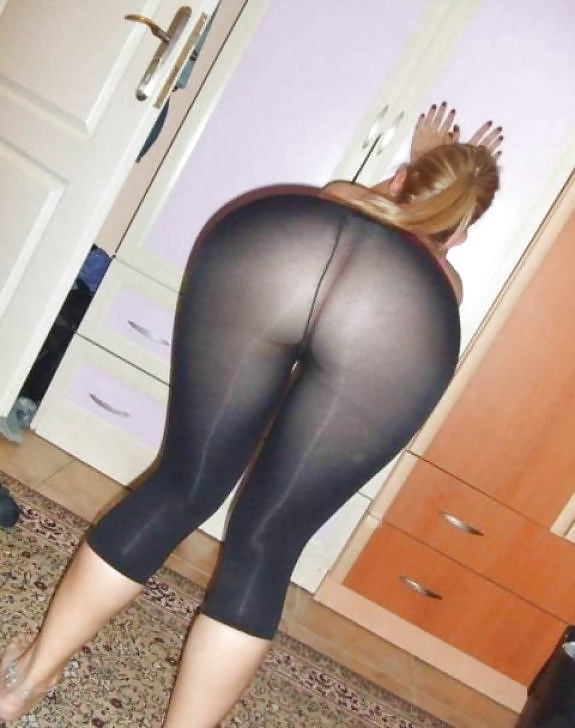 In yoga girls through hot pants see