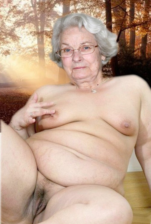 Grandmother Hairy Pussy