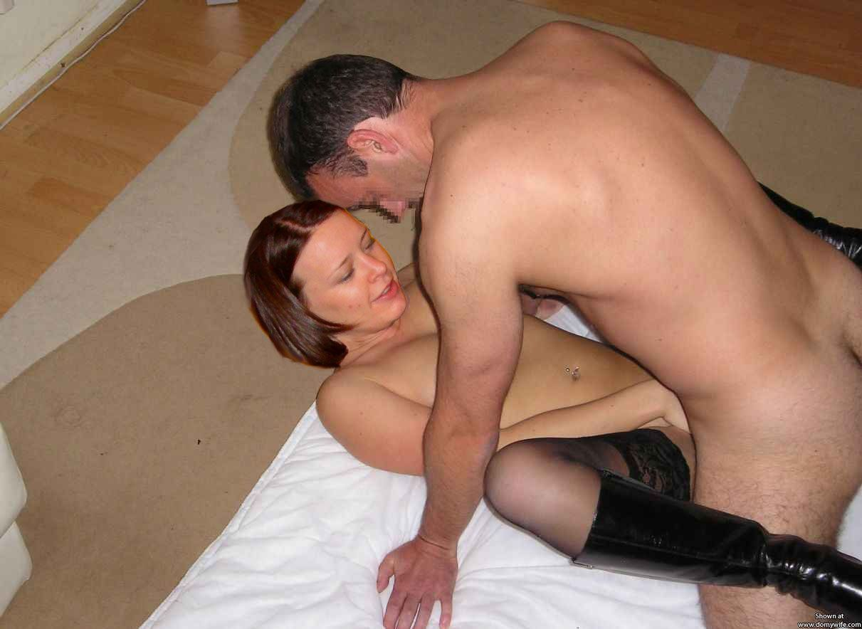 Her male slave
