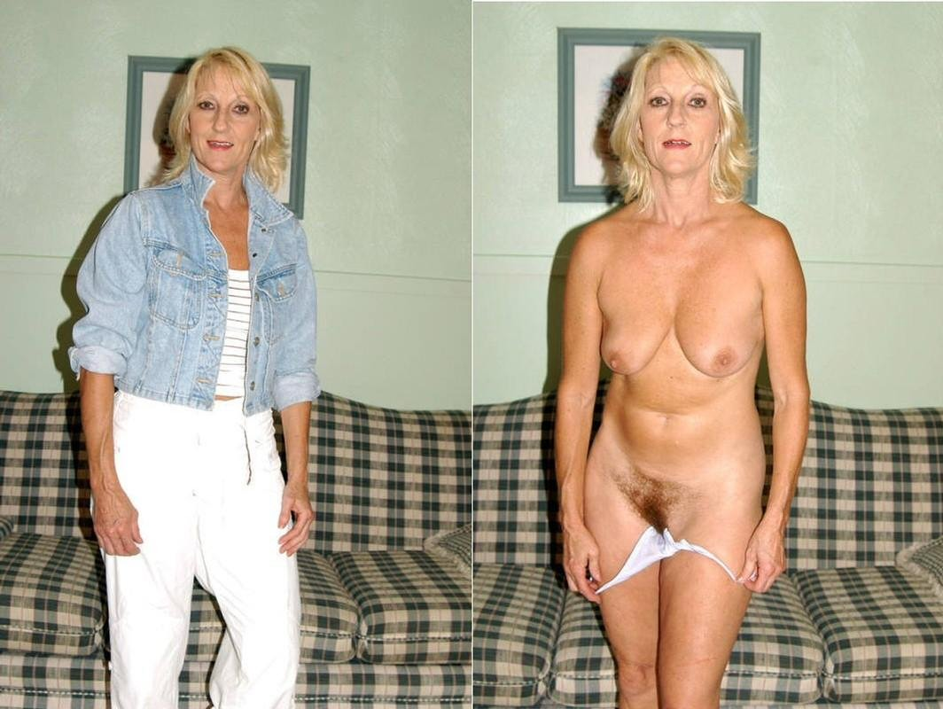 Naked before after moms and
