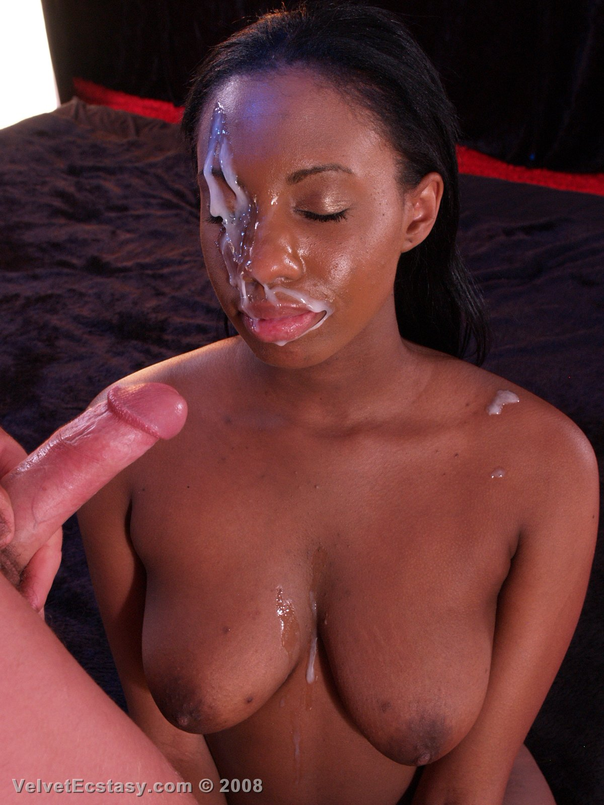 Ebony facial tumblr