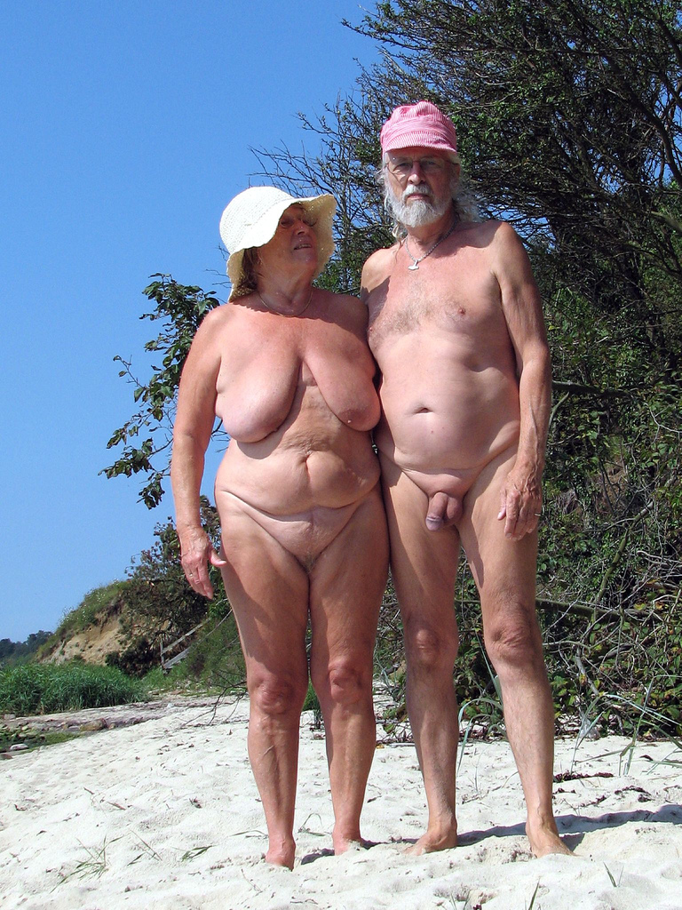 Consider, that women nude beach older share