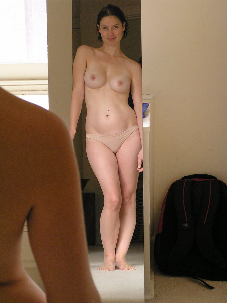 Lovely wife posing nude