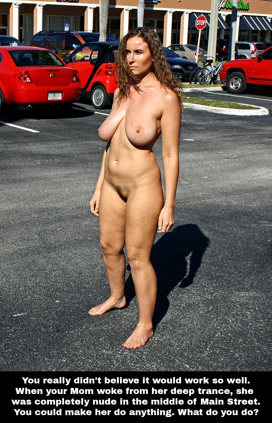 Reluctant Exhibitionist