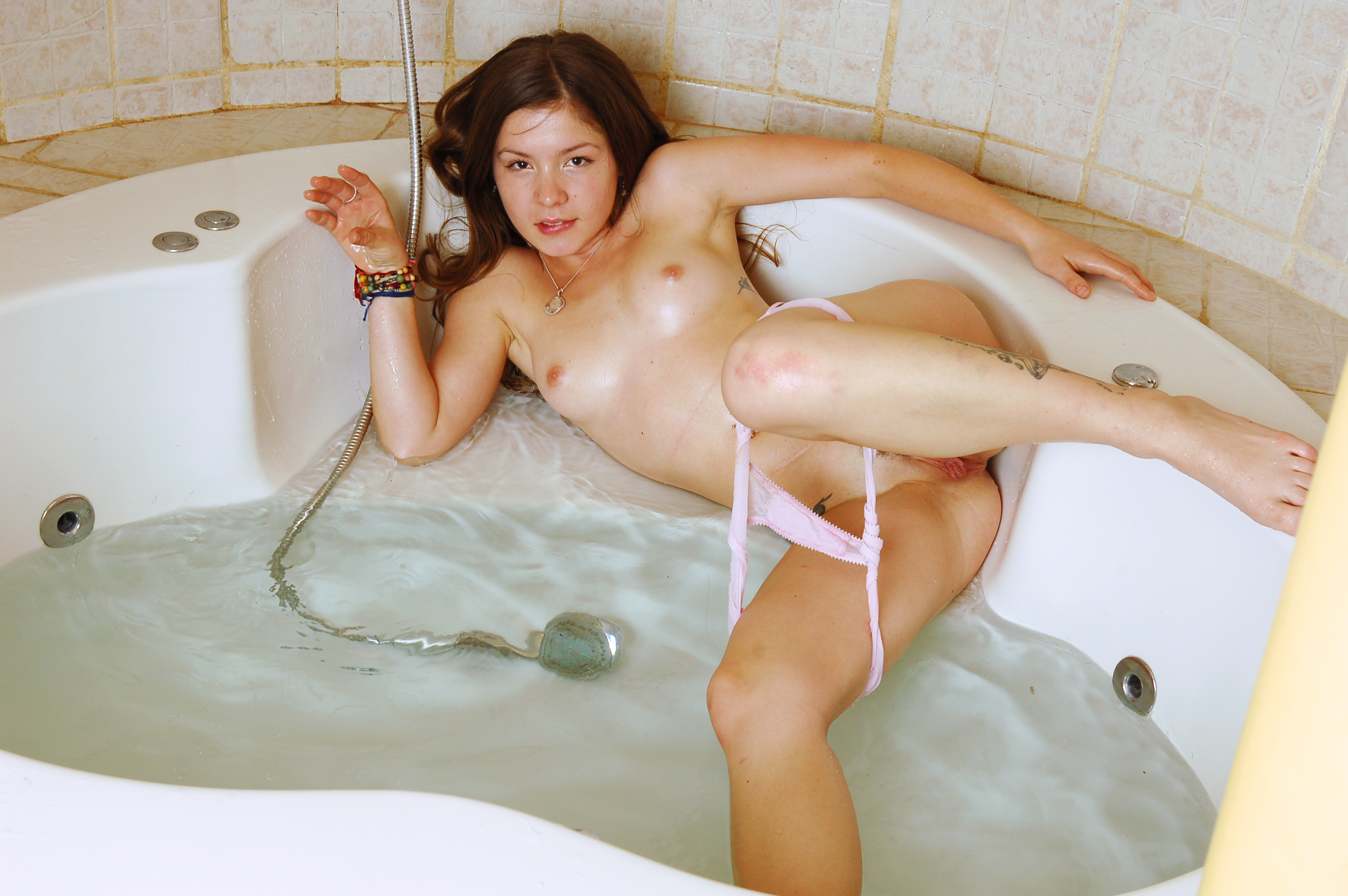 Naked In The Bath Tub 115