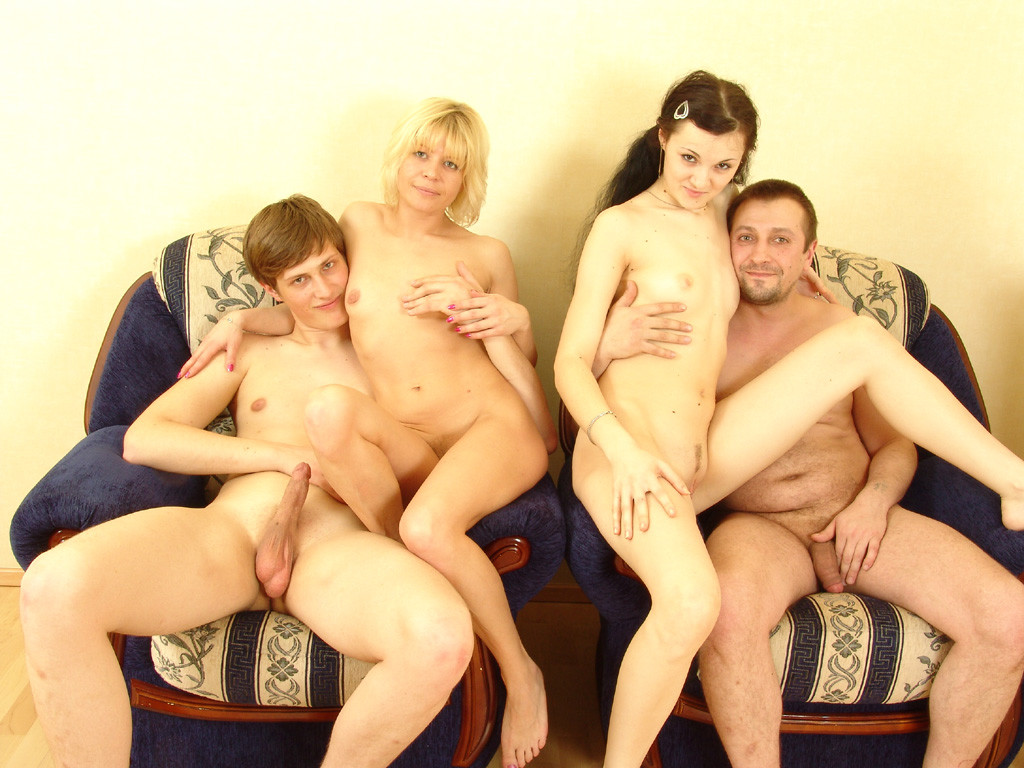 image Czech home orgy party